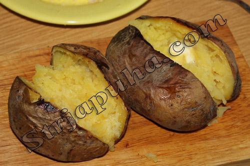 Картофель печеный сюрприз