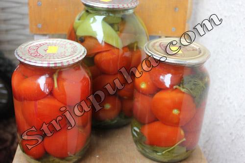 Маринованные помидоры «по-украински» с перцем