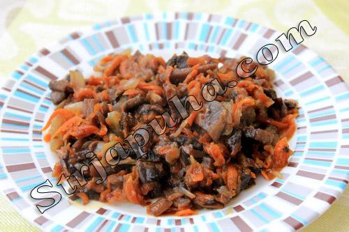 Куриная грудка, фаршированная грибами и сыром в духовке
