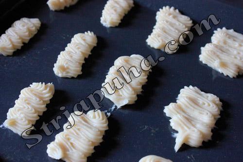 Эклеры с морскими водорослями «Чука» и икрой