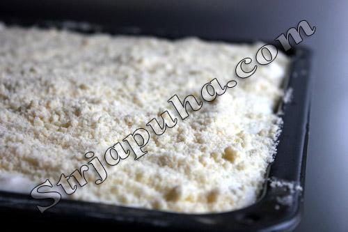 Творожный пирог (печенье творожное) с изюмом