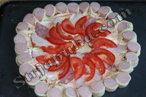 Пицца (смаженка) мясная