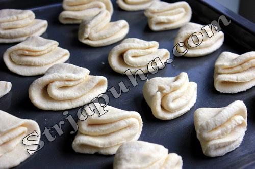 Печенье из творога «Творожные ушки»