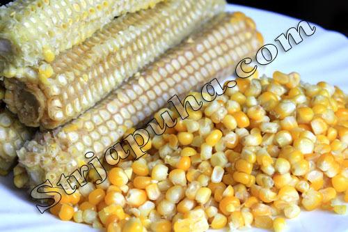 Кукуруза консервированная дома