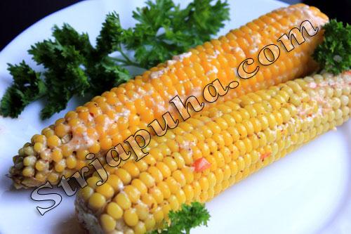 Кукуруза, запеченная в фольге острая