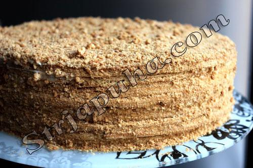 Торт медовик или рыжик