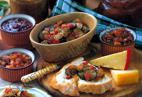 Маринованные овощи для сэндвичей