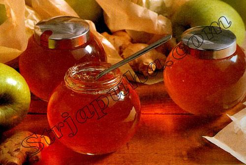 Желе из яблок и имбиря