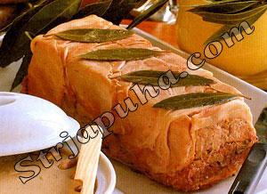 Террин из свинины, телятины и ветчины
