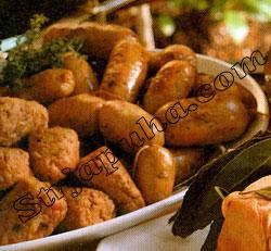Итальянские колбаски из свинины и фенхеля