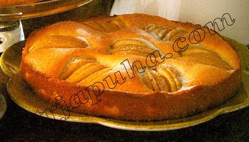 Французский яблочный торт