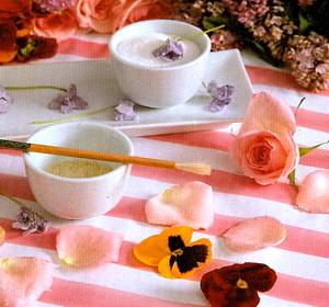 Цветочные цукаты