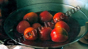 Персики в ликере