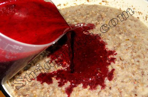 Кровянка (кровяная колбаса) с гречкой