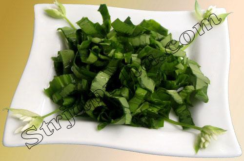 Салат из черемши классический