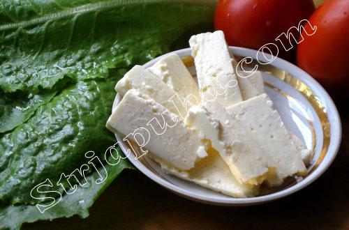Рулетики из салата с брынзой и грецкими орехами