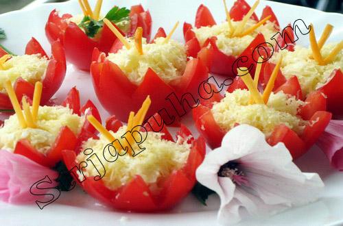 Закуска «Аленький цветочек»