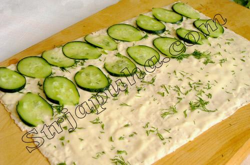 рецепты салатов из семги рулетом с картинками