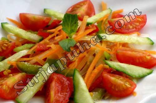 Помидоами морковкой Салаты с огурцами simply