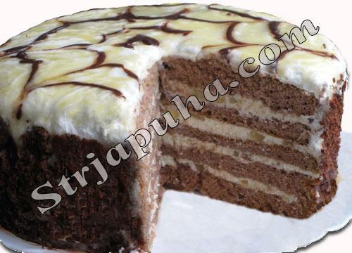 Грушево-творожный торт
