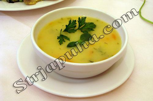 Суп-пюре картофельный на рисовом отваре