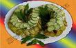 Салат «Змейка» с горбушей